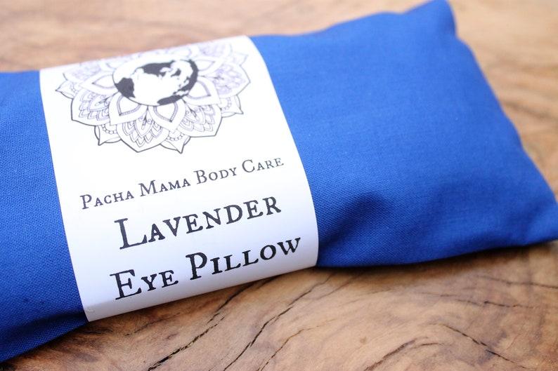 Lavender Eye Pillow  Blue image 0