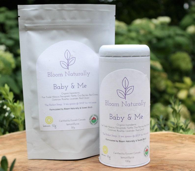 Bloom Naturally Baby & Me Tea 100g image 0
