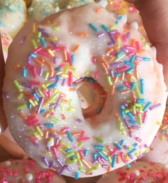 Candy Crush Donut Bath Bomb Fizzy (Free Shipping)