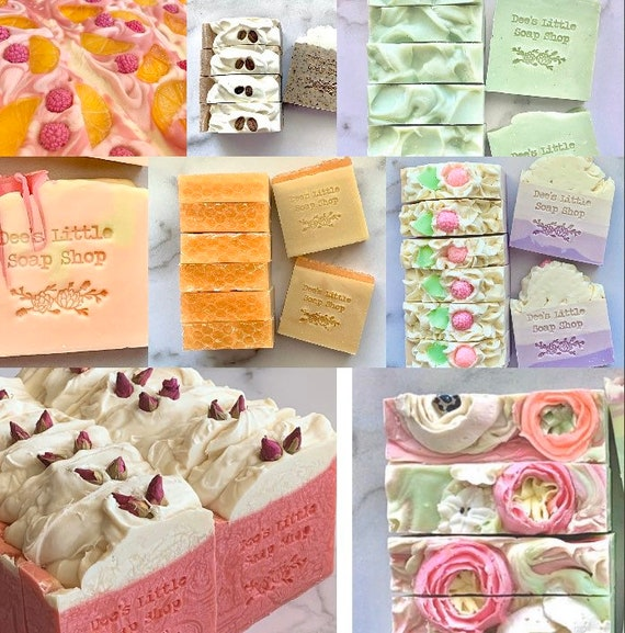 Pick 5 cold processed soaps (free shipping)
