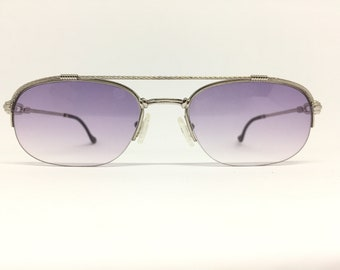 16ba5c365aa3 Fred Paris Caravelle 54-20 Vintage Sunglasses Custom-made Rhodium Plated