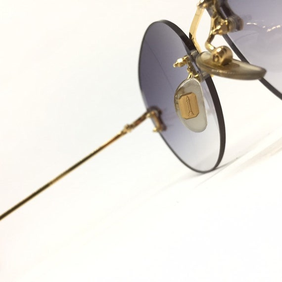 Vintage Boucheron Rimless Sunglasses - image 6