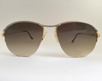 Fred Paris Bermude Re-shaped Custom Made Vintage Sunglasses