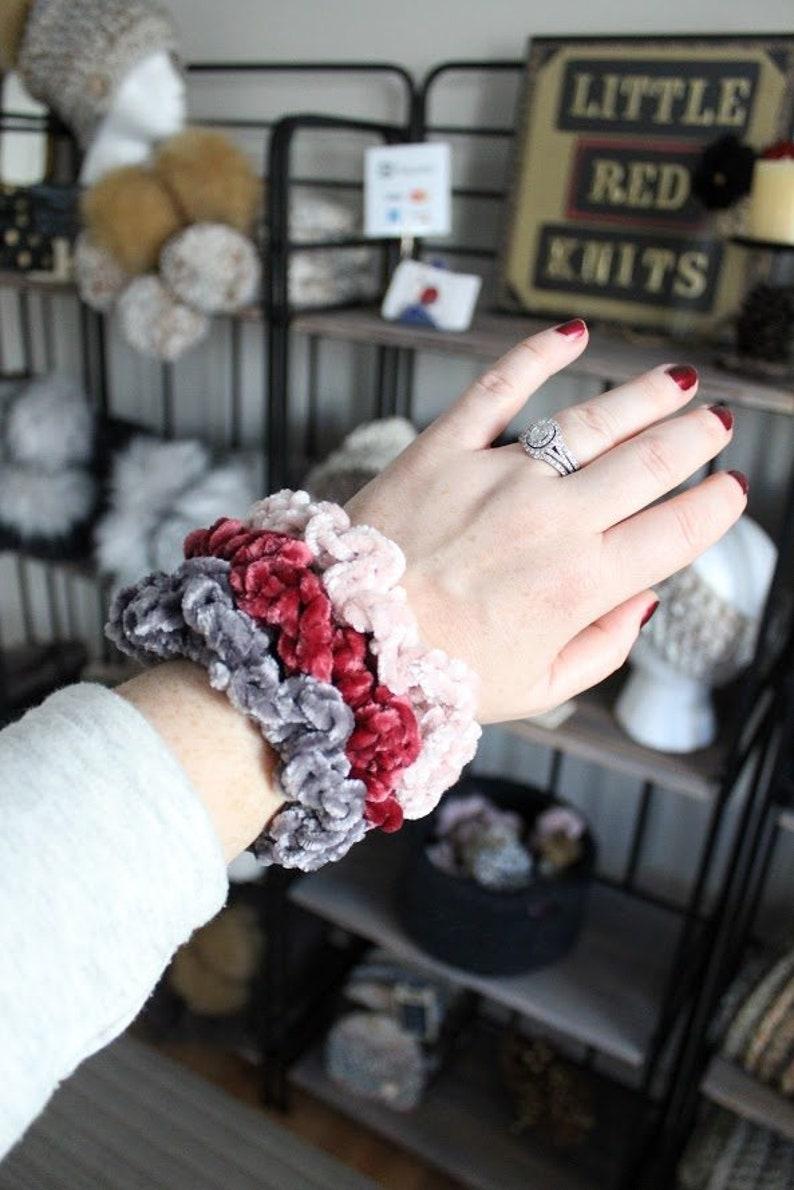 Velvet Scrunchie Hair Accessories Scrunchies Hair Tie Handmade