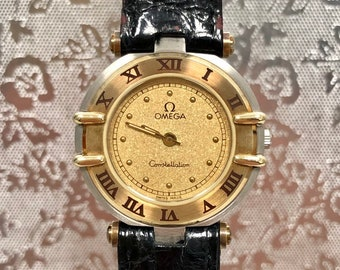 Omega Constellation vintage lady steel and gold. Unworn