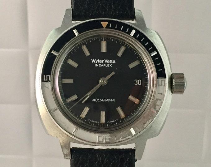 WYLER VETTA aquarama automatic years 70