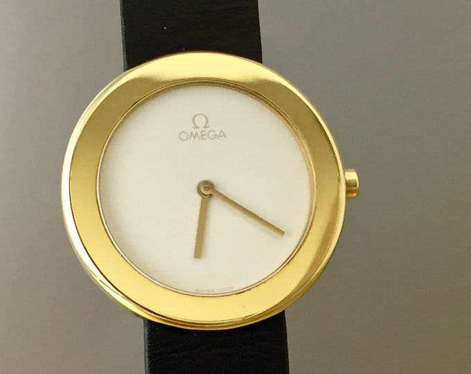 Unique and rare OMEGA Art Watch collection in 18kt Gold limited edition 999 specimens. Inventory remainder. With box