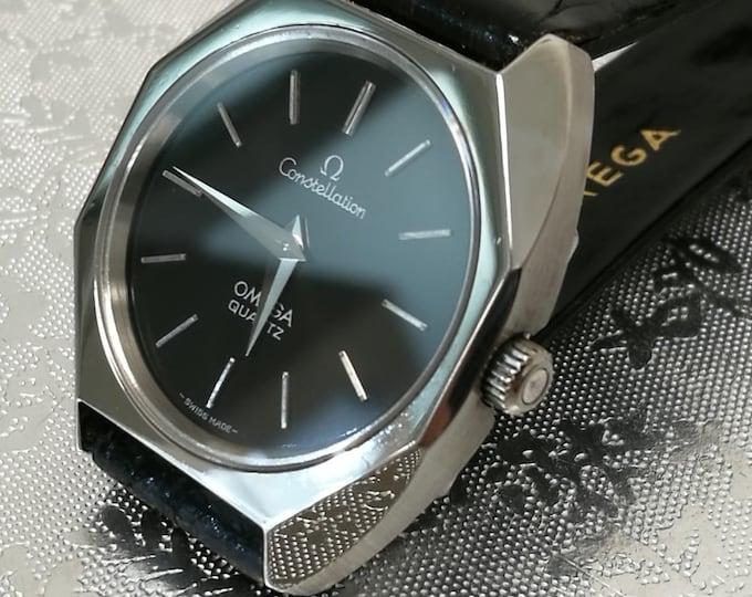 OMEGA watch constellation vintage unisex steel