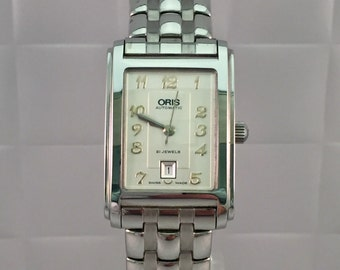 ORIS watch lady automatic steel