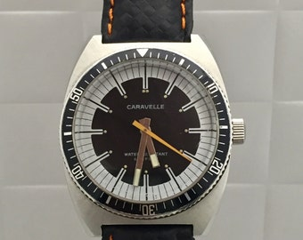 CARAVELLE by Bulova watch vintage anni 70