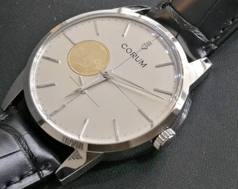 "Watch CORUM tribute to ""LIRA 1"" grand précis limited edition 499 pz."
