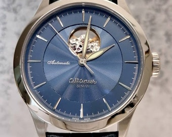 Automatic men's ALTANUS Elite watch with view barbell