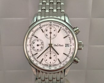 PAUL Picot Telemark Watch automatic chronograph. Never worn