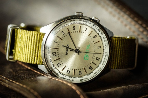 Raketa Watch, ZESTRIL Watch, USSR Watch, 24hours W