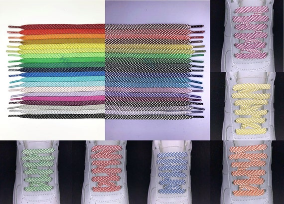 Irregular Pattern Athletic Shoe Replacement laces
