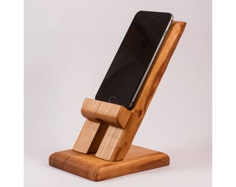 iPhone 6+ Stand iPhone Holder iPhone Rest iPhone Charging Station Smartphone Stand Smartphone Rest