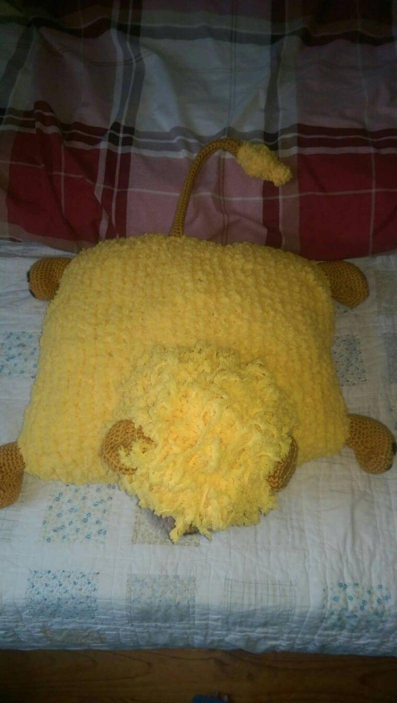 Sleepy Lion Snuggle cushion