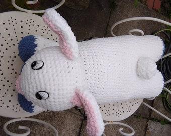 Giant Bunny Cuddle Cushion
