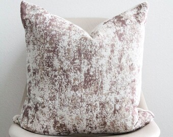 """20"""" x 20"""" Clay Marble Pillow Cover - COVER ONLY"""