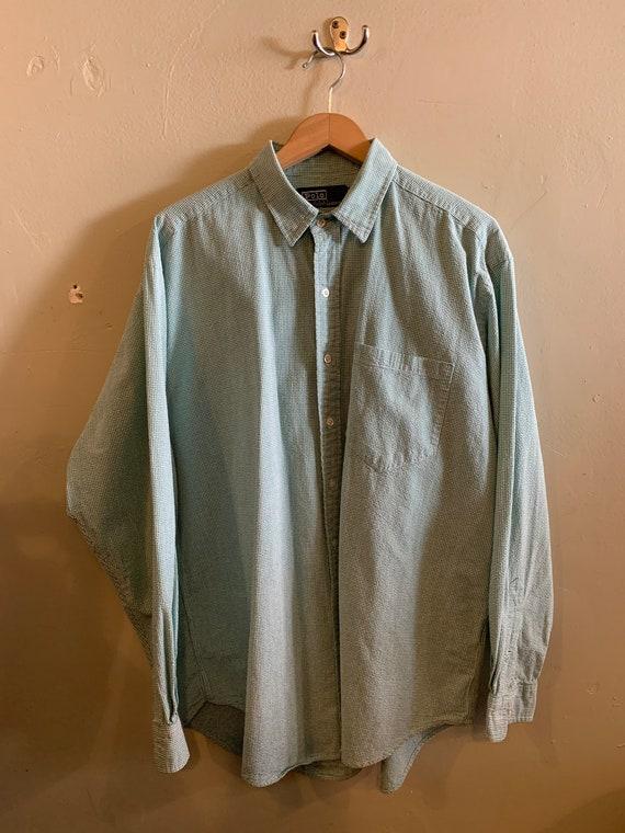 POLO RL / Ralph Lauren shirt / vintage Polo / gree