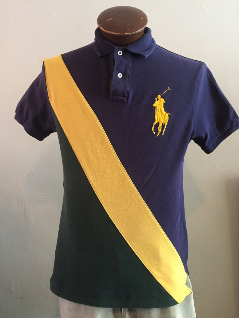 b3bb3cdcc444 POLO RALPH LAUREN   Big Horse polo   3-tone   hip hop   prep
