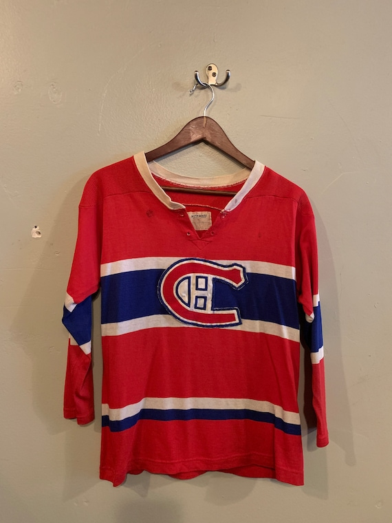 MTL Canadiens / vintage kid's sweater / tricolours