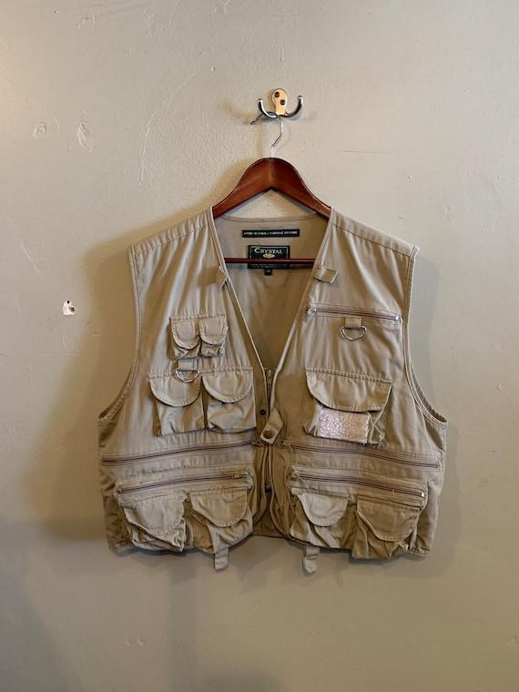 Fly Fishing vest / many pocket vest / vintage outd