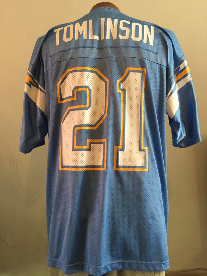 451c9a86 LT / NFL jersey / SD Chargers / powder blue / #21 / Adidas / L