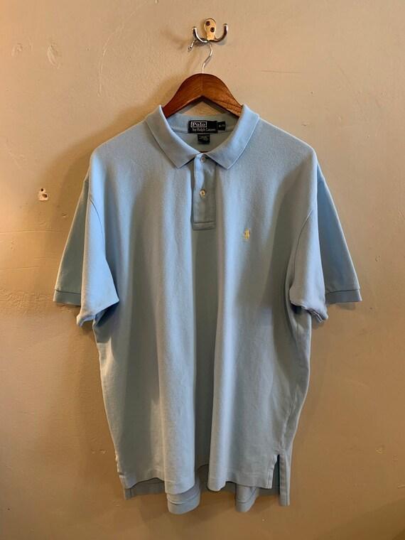 POLO Ralph Lauren / vintage polo shirt / classic P