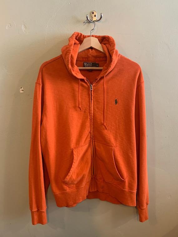 POLO RL hoody / Ralph Lauren vintage / Orange juic