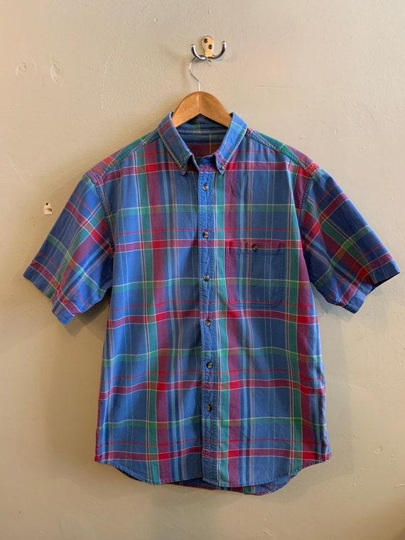 Vintage summer shirt / mens shirt / summer pastel