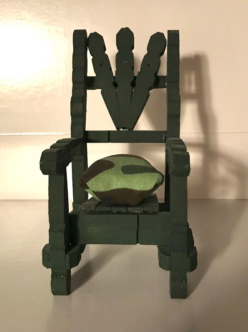 Incredible Clothespin Chair Pincushion Squirreltailoven Fun Painted Chair Ideas Images Squirreltailovenorg