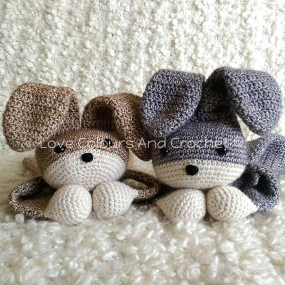 Bunny Ragdoll Baby En Peuter Speelgoed Amigurumi Haak Etsy