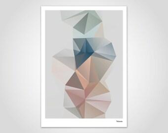 Pastell no.2 moderne poster abstrakte kunstdrucke etsy