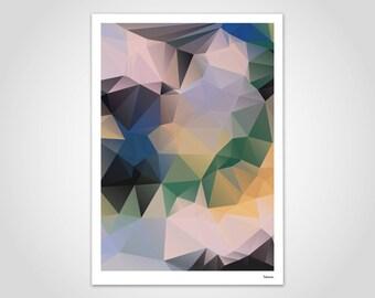 Mor 2 Poster Kunstdrucke Bilder Wandbild Deko Etsy