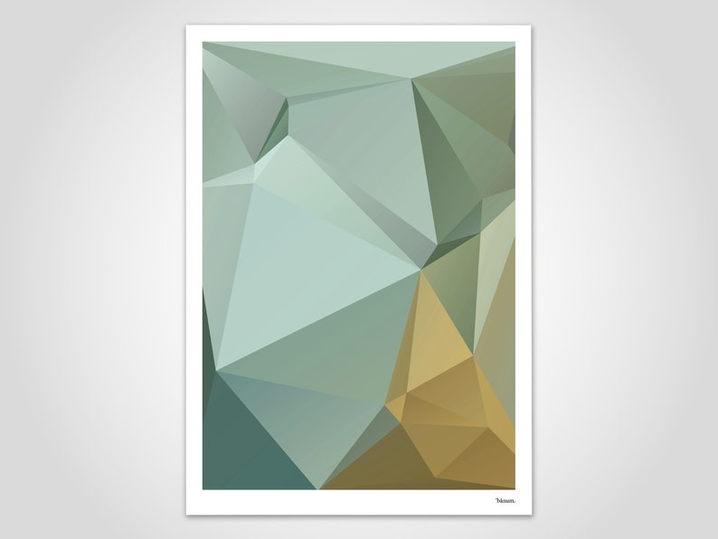 Nil 3 / modern poster abstract art prints contemporary wall image 0