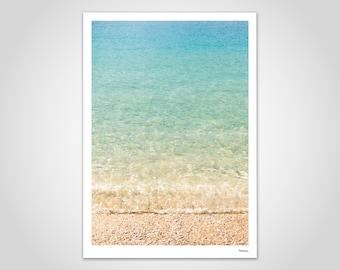 banum Ölüdeniz — poster, photography pool, picture beach summer, holiday art print, decoration living room, poster Scandinavian, poster turquoise sea