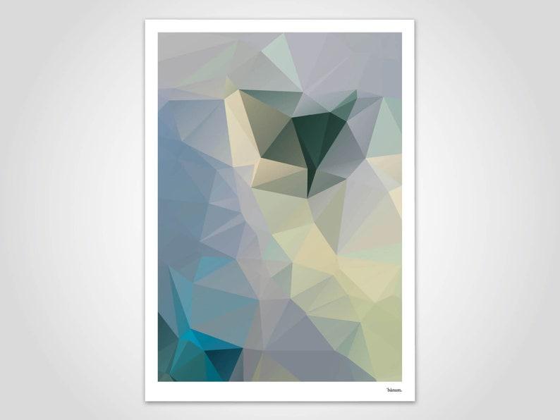 Mint/poster art prints decoration Scandinavian images image 0