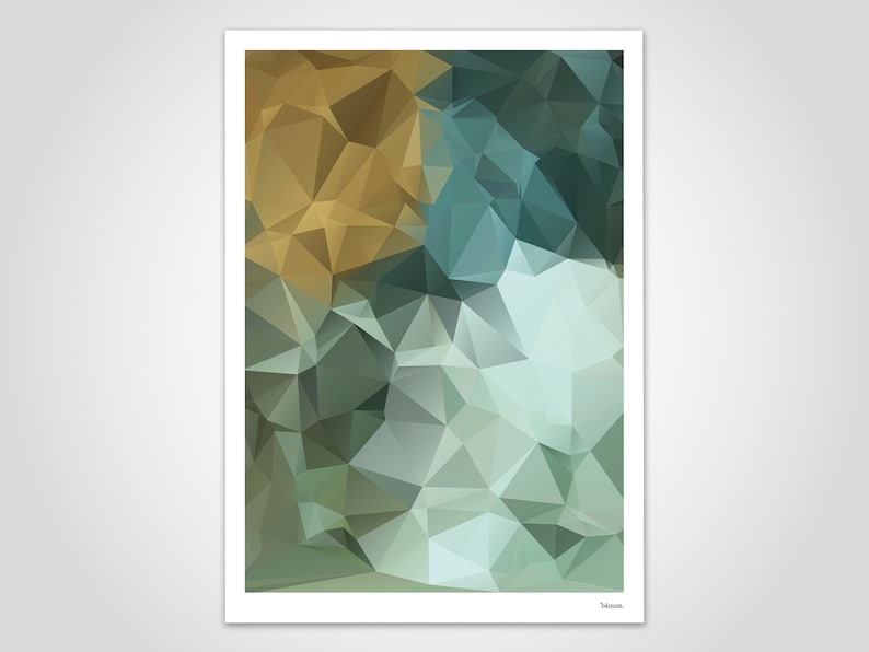 Nil 2 / modern poster abstract art prints contemporary wall image 0