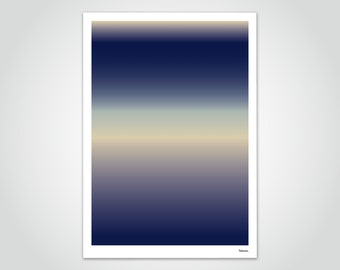 banum gradient N6 — poster gradient, poster color transition, poster abstract landscape, pictures modern art, poster colors rainbow