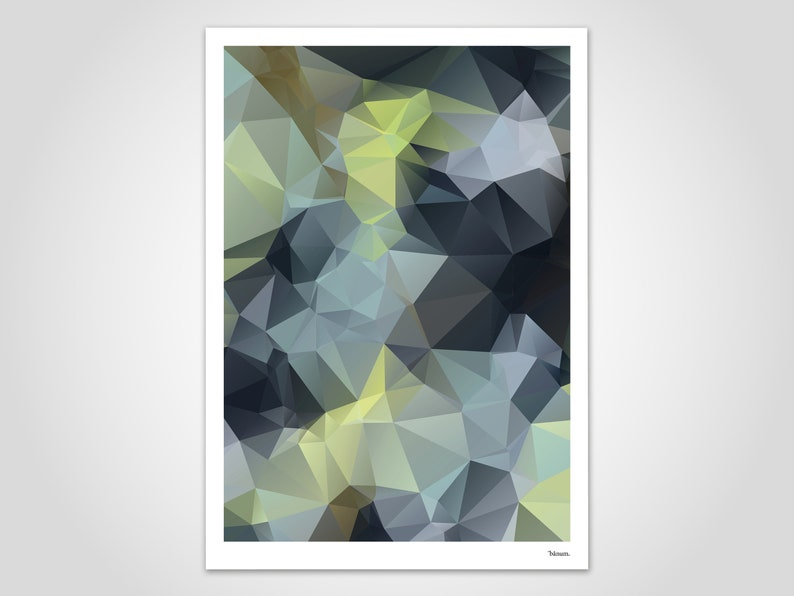 Darkgreen/Poster Art Print Decoration Scandinavian image 0