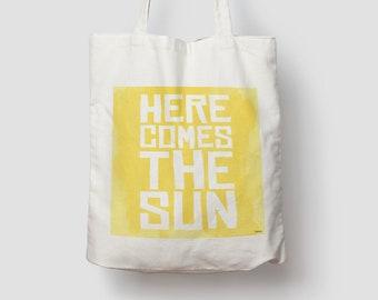 Sun — Jute bag, cotton bag, tote bag, jute, jute bag, tote bag, fabric bag, bag, shoulder bag, summer, motivation