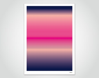 banum gradient N7 — poster gradient, poster color transition, poster abstract landscape, pictures modern art, poster colors rainbow