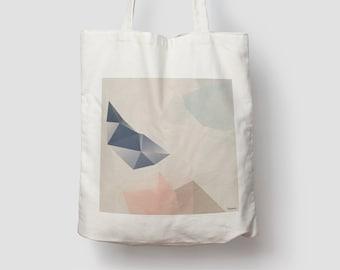 Pastel 1 — Jute bag, cotton bag, shopping bag, organic bag, jute, jute bag, carrying bag, fabric bag, bag, shoulder bag
