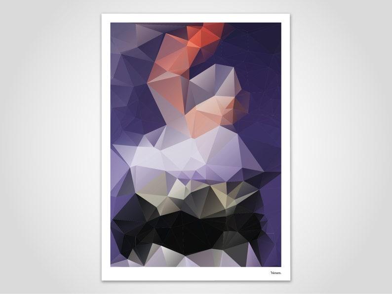 Scampi / modern poster abstract art prints minimalist art image 0