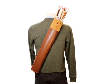 leather quiver archery Quiver archery Made in FRANCE