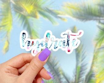 Hydrate -  Vinyl Stickers, Cute Stickers, Vinyl Decal, Funny Stickers, Colorful Stickers, Laptop Sticker
