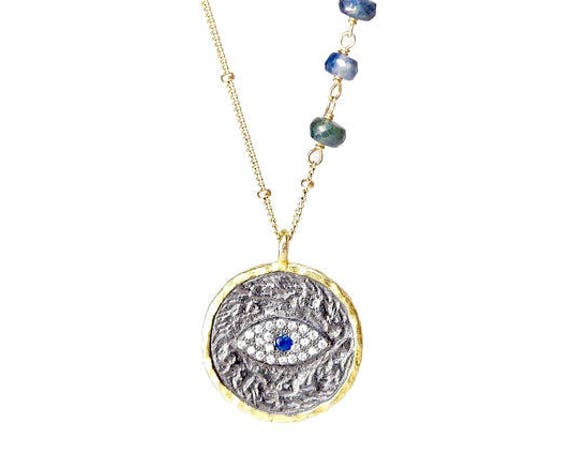 Customizable Talisman and Gemstone Necklace