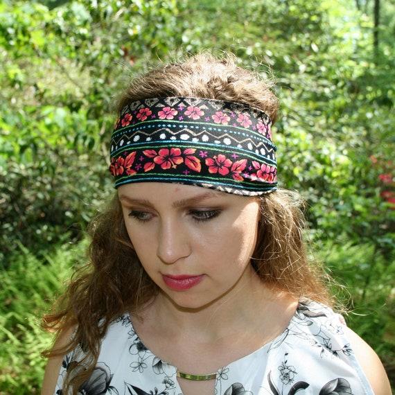 "Stretchy Alice Band Gym Sports School Hair Headband Girls 80/'s 70/'s 2/"" Wide NEW"