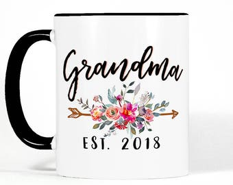 Personalized Grandma Gift | Mothers Day Gift for Grandma | Grandma Mug | New Grandma Gift | Grandma Birthday Gift | Grandmother Gift